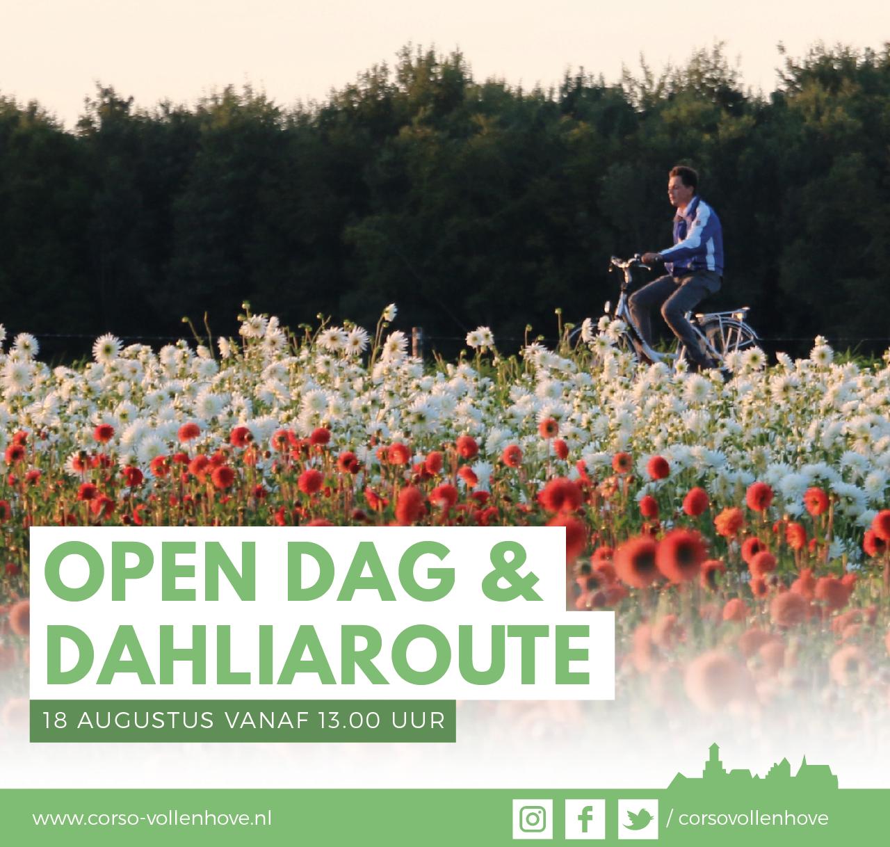 Open dag en Dahliaroute Corso Vollenhove